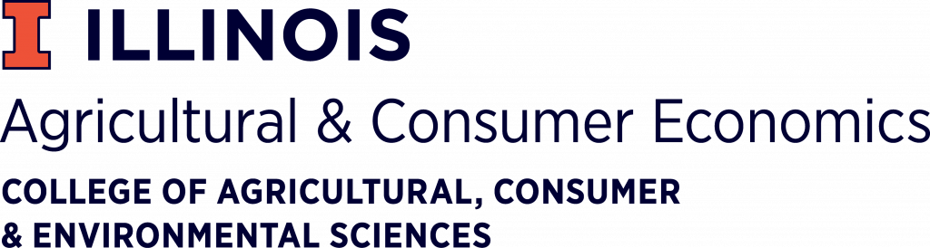 Logo for University of Illinois Department of Agricultural & Consumer Economics