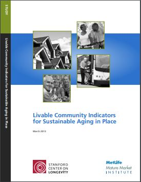 Livable Community Indicators for Sustainable Aging in Place cover image